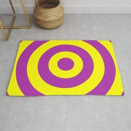 Target (Purple & Yellow Pattern) Rug