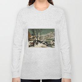 The Hunters in the Snow, Pieter Bruegel the Elder Long Sleeve T-shirt