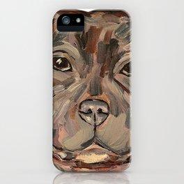 Sallie the dog iPhone Case