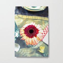 Table Sun Metal Print