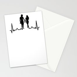 love love couple couple couple couple heart beat heartbeat heartbeat Stationery Cards