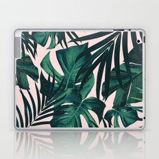 Tropical Jungle Leaves Pattern #5 #tropical #decor #art #society6 Laptop & iPad Skin