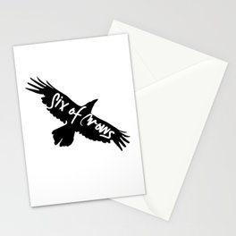 Six of Crows Art Print  Stationery Cards