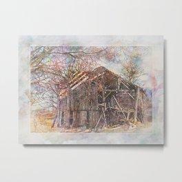 Country Barn PhotoArt Metal Print