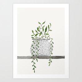 Vase 2 Art Print