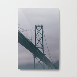 Lions Gate Bridge Metal Print