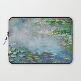 1906 Waterlilies oil on canvas. Claude Monet. Laptop Sleeve