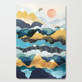 Cloud Peaks Cutting Board