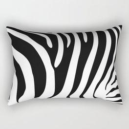 Zebra hide Rectangular Pillow