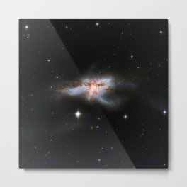 1728. NGC 6240: Merging Galaxies  Metal Print