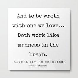 42     | Samuel Taylor Coleridge Poems | 200207 Metal Print