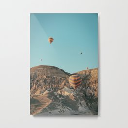 BALLOONS - FLIGHT - HOT - AIR - BALLOONS - PHOTOGRAPHY Metal Print
