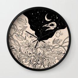 Bad Moon Wall Clock