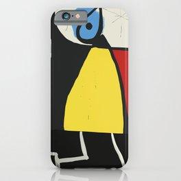Joan Mirò #8 iPhone Case