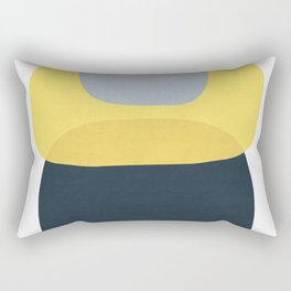 Abstract figures III Rectangular Pillow