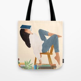 Lost in my books Tote Bag