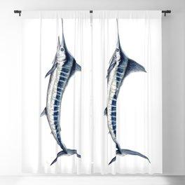 Blue Marlin (Makaira nigricans) Blackout Curtain
