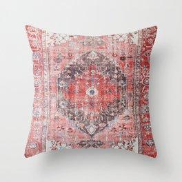Vintage Anthropologie Farmhouse Traditional Boho Moroccan Style Texture Throw Pillow