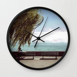FALL IN LOVE WITH LAKE GENEVA Wall Clock