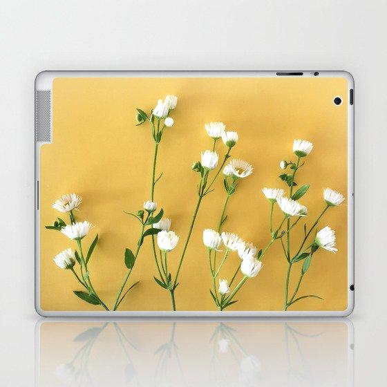 Yellow summer | Flower Photography Laptop & iPad Skin