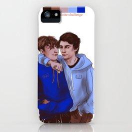 SKAM France / Druck crossover Lucas/Matteo iPhone Case