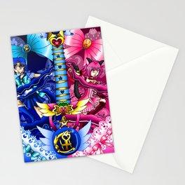 Sailor Mew Guitar #15 - Sailor Mercury & Mew Ichigo Stationery Cards