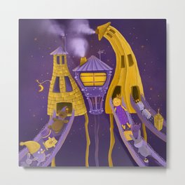 Toy Factory Metal Print