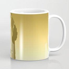 Gold Statue of Liberty Coffee Mug