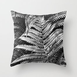 Abstract Black and White 3 Throw Pillow