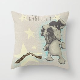 - KABLOOEY! - Throw Pillow