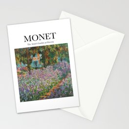 Monet - The Artist's Garden at Giverny Stationery Cards