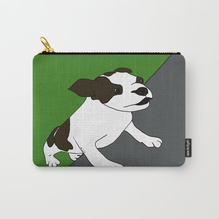 Annie The Boston Terrier Carry-All Pouch