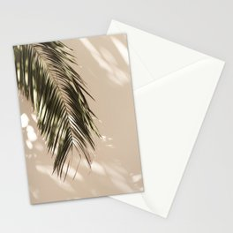 tropical palm leaves vi Stationery Cards