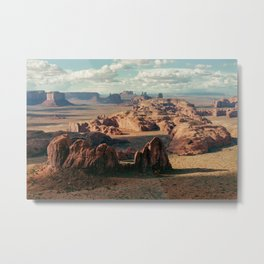 Monument Valley Overview Metal Print