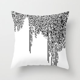 QR-antine V 0.2 Throw Pillow