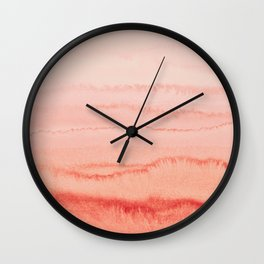 WITHIN THE TIDES - LIVING CORAL Wall Clock