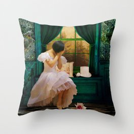 Hour of Seperation Throw Pillow