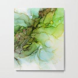 Fresh Spring Green - Part 2 Metal Print