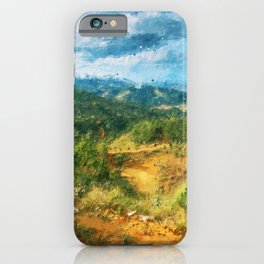 Isle of Skye, Panorama iPhone Case