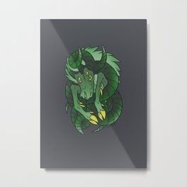 Elder Sign - Capricorn Metal Print