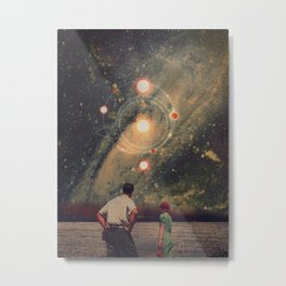 Light Explosions In Our Sky Metal Print