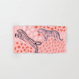 Tiger Print Hand & Bath Towel