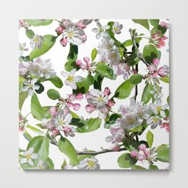 Blossom in delicate shades of pink Metal Print