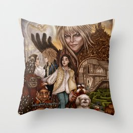 Labyrinth Tribute Throw Pillow
