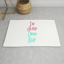 Eat Sleep Drop Beat Fun High Pitch Rug