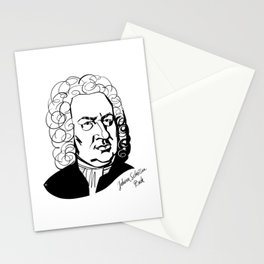 Johann Sebastian Bach Stationery Cards