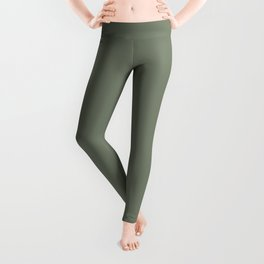 Mellow Earth Green Pairs with Magnolia Paints Olive Grove JG-09 Leggings