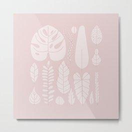 leaf collection Metal Print