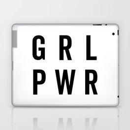 GRL PWR / Girl Power Quote Laptop & iPad Skin