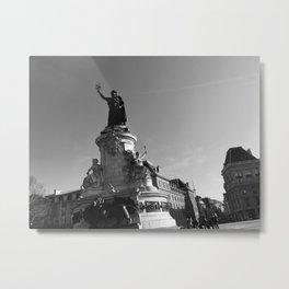 Paris Bastille Metal Print